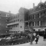 Les élèves en 1902.