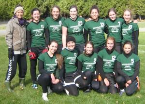 équipe de flag-football 2012-2013