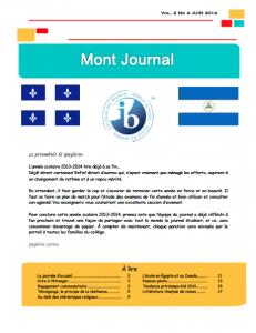 vignette journal 2014