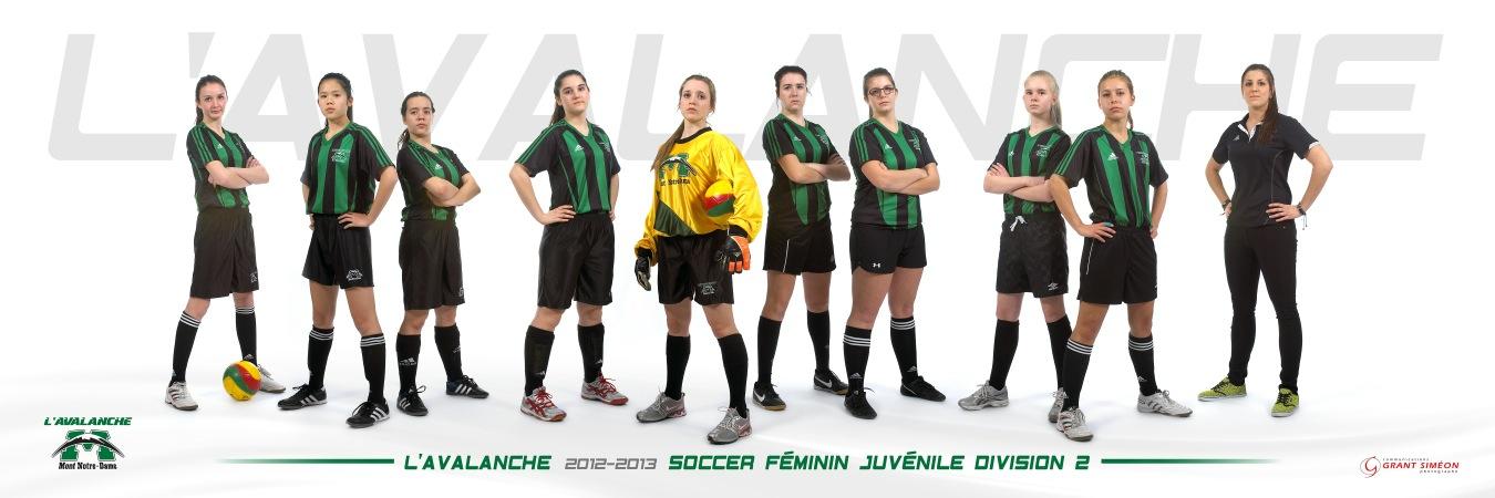 soccer juvénile division 2