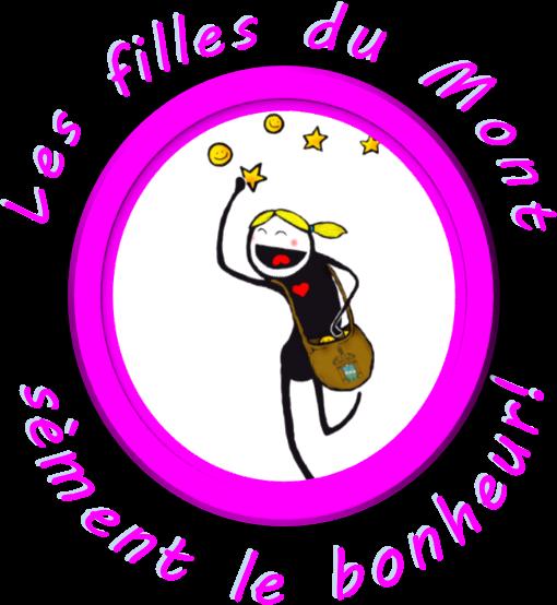 Logo les filles du mont sèment le bonheur
