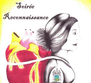 Couverture du programme souvenir réalisée par Sabrina Boivin